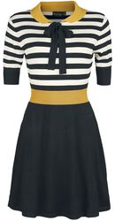 Sofie Striped Flare Knit Dress