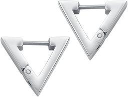 Triangular Dangling Earrings