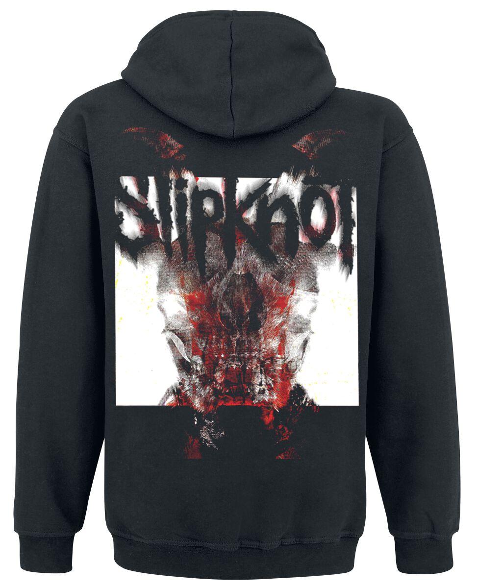 Slipknot All Out Life Homme Sweat-Shirt zipp/é /à Capuche Noir