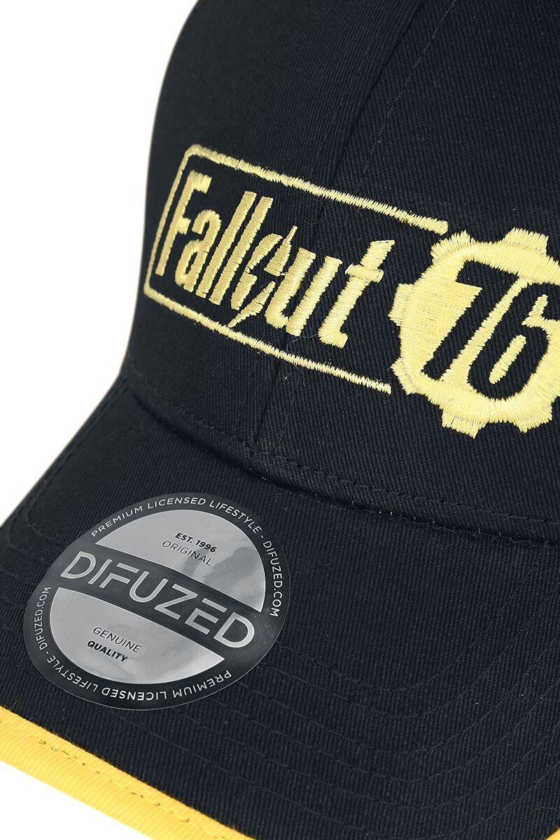 76 - Yellow Logo. Cap. Fallout c5cbae8f2c63