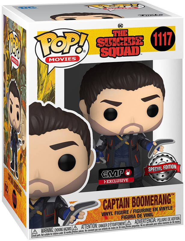 Captain Boomerang Vinyl Figure 1117