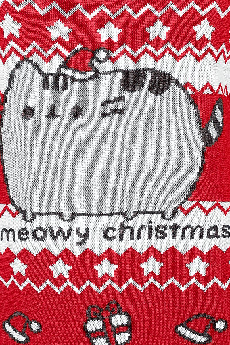 Meowy Christmas | Pusheen Christmas jumper | EMP