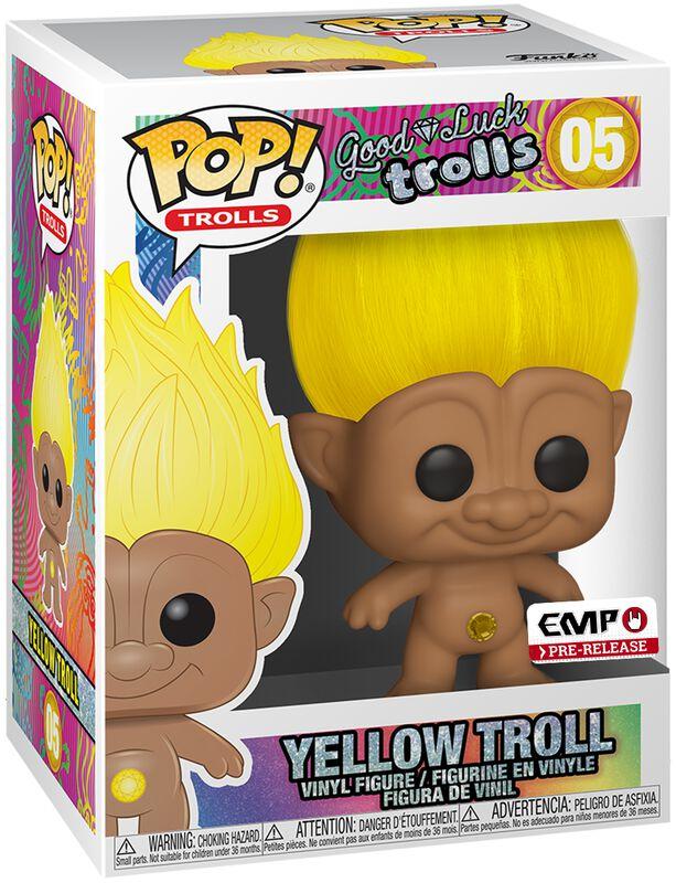Yellow Troll Vinyl Figure 05