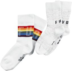 2-Pack Rainbow Socks