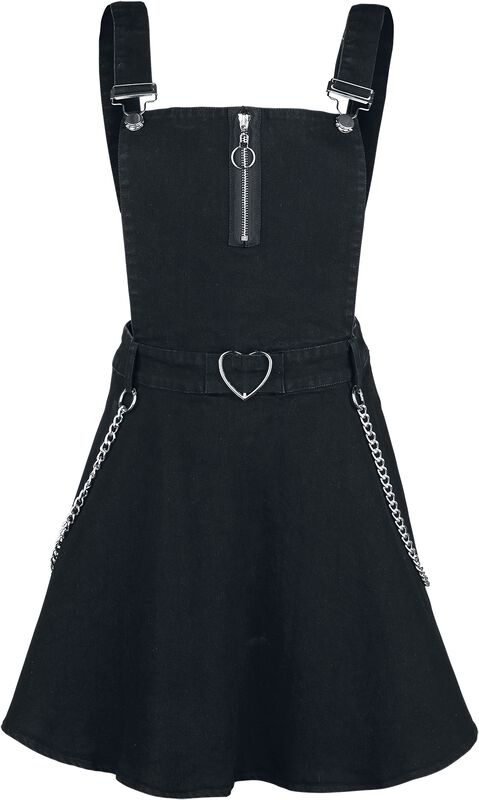Love Me Right Dungeree Style Dress