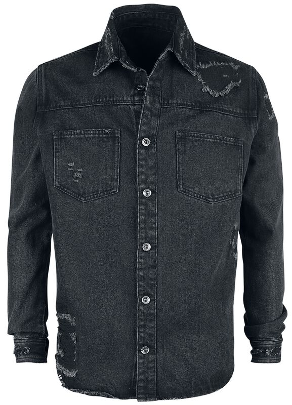 Heavy Distressed Worker Shirt