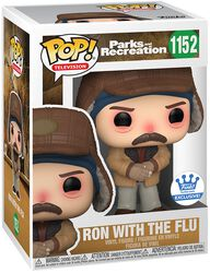 Parks And Recreation Ron with the Flu (Funko Shop Europe) Vinyl Figure 1152
