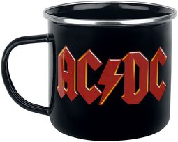 AC/DC - Emaille Becher