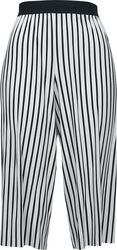 Ladies Stripe Pleated Culotte