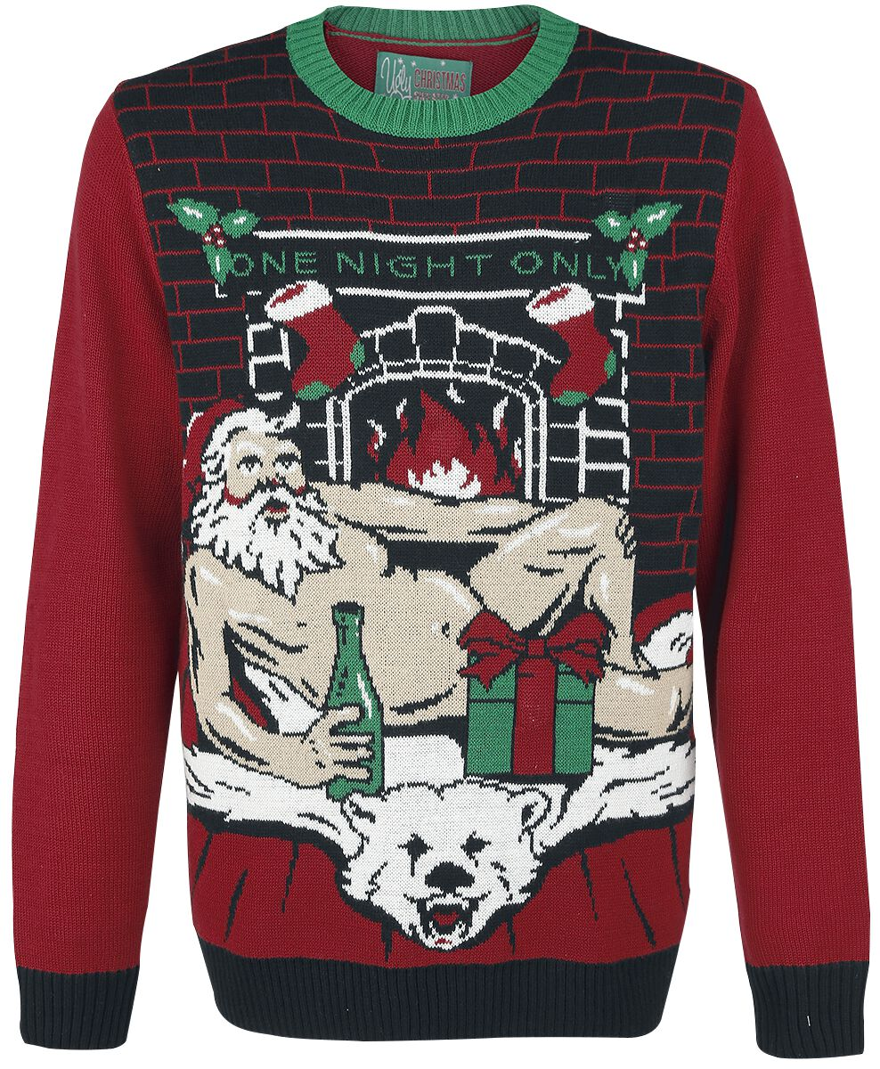 sexy santa ugly christmas sweater christmas jumper emp
