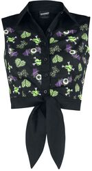 Midnight Hour Cropped Shirt