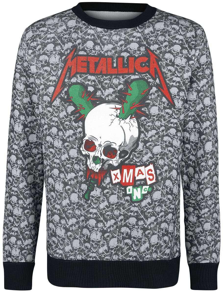 holiday sweater 2018 metallica christmas jumper emp - Metallica Christmas Sweater