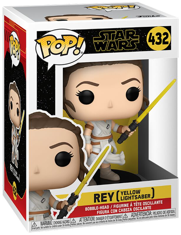 The Rise of the Skywalker - Rey (Yellow Lightsaber) Vinyl Figure 432