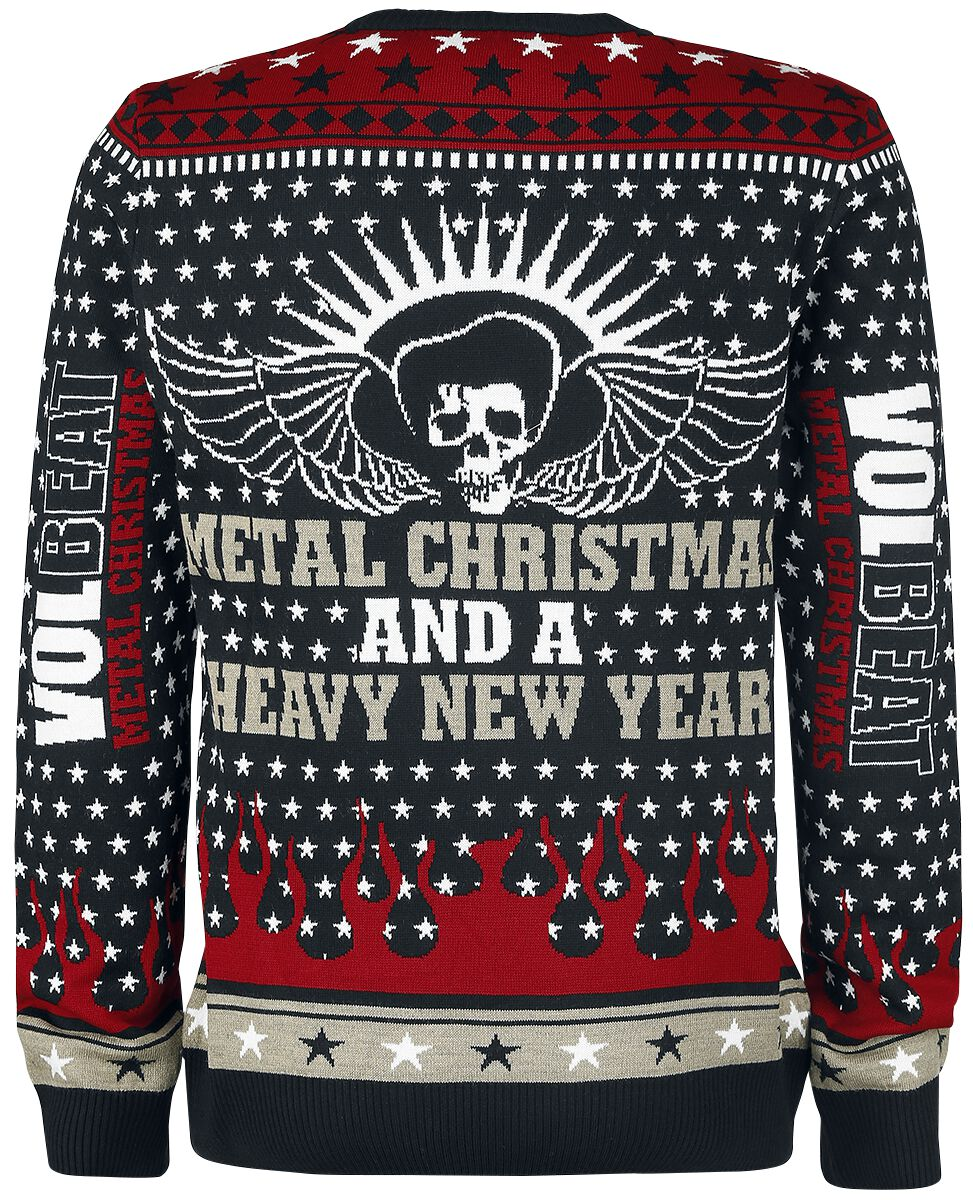 holiday sweater christmas jumper - Metal Christmas Sweater