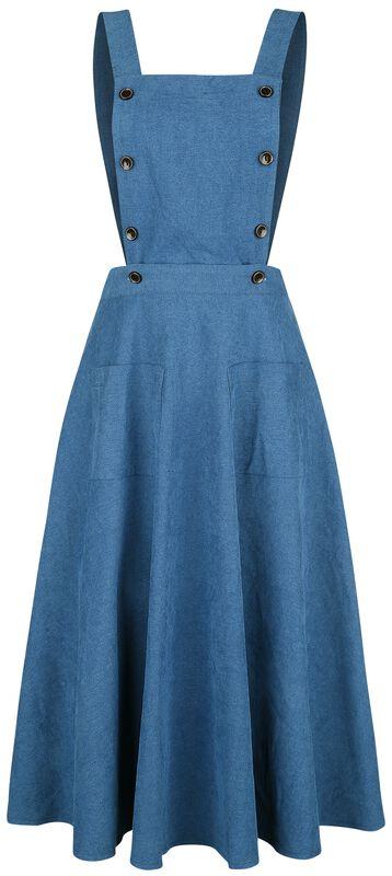 Book Smart Pinafore Dress