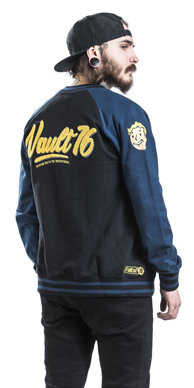76 Vault 76 Fallout Varsity Jacket Emp