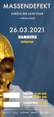 Zurück ins Licht - Hamburg - 26.03.2021 - Grünspan