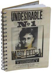 Sirius & Harry 3D Notebook