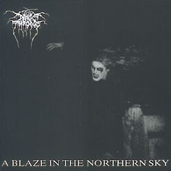 A blaze in the northern sky