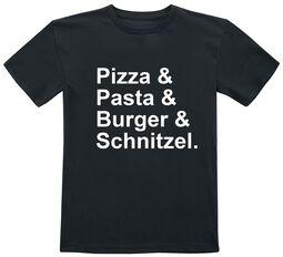 Kids - Pizza & Pasta & Burger & Schnitzel