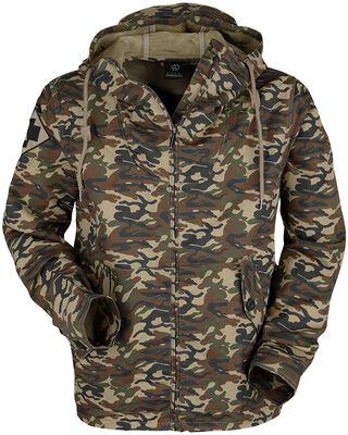 Camouflage-Parka
