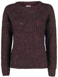 Suzu L/S Boatneck Cable Knit