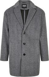 Classic Herringbone Coat