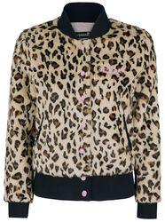 Fake Fur Leopard Jacket