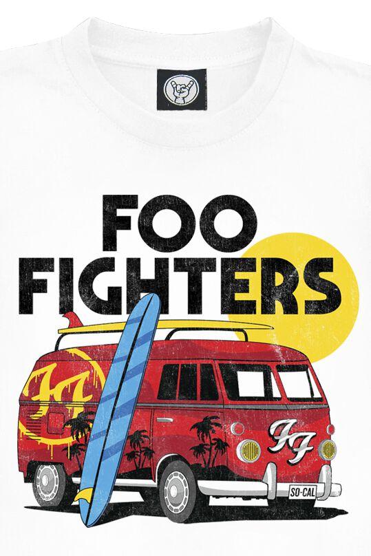 fbdca02d9 Foo Fighters. Back. Van. T-Shirt. Back. Van
