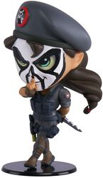 Siege - Six Collection - Caveira Chibi Figure