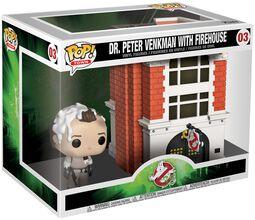 Dr. Peter Venkman with Firehouse (Pop! Town) Vinyl Figure 03