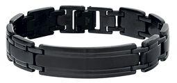 Black Plaited Bracelet