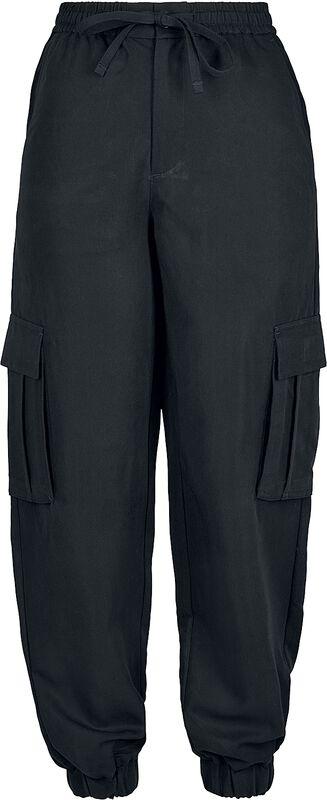 Ladies Viscose Twill Cargo Pants