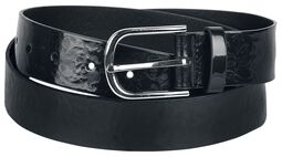 Faux Leather Belt Flora