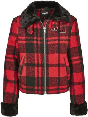 Ladies Plaid Jacket