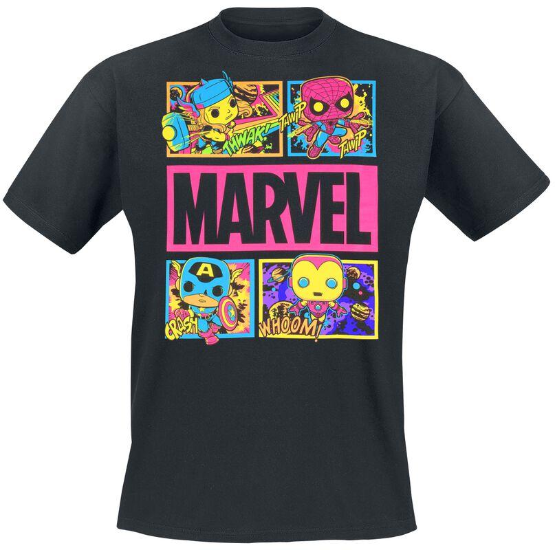 Marvel - Black Light - Panels