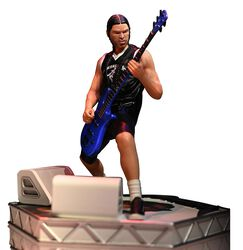 Rock Iconz Statue Robert Trujillo