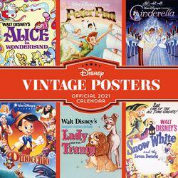 2021 Wall Calendar - Vintage Posters