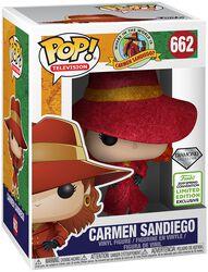 Where in the World is Carmen Sandiego? ECCC 2019 - Carmen Sandiego Vinyl Figure 662