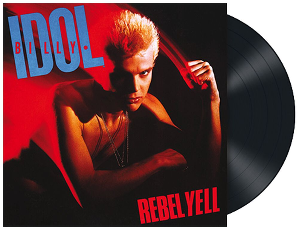 Rebel yell   Billy Idol LP   EMP
