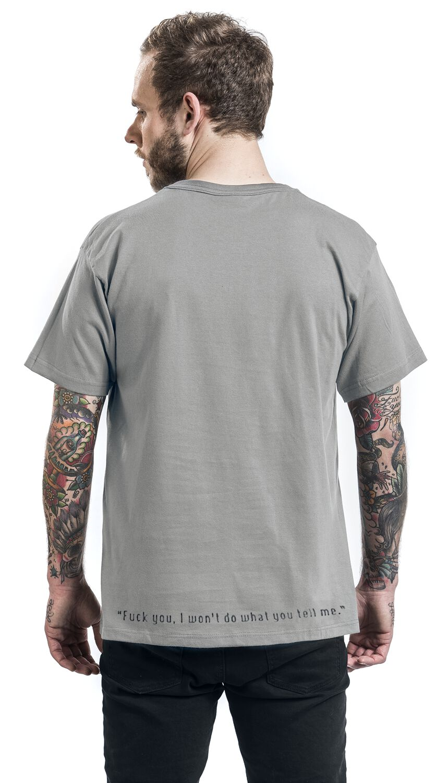 I won/'t do what you tell me American alternative metal band shirt Funk metal Rap rock Men/'s size M Rage Against the Machine shirt Fuck you