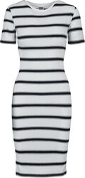 Ladies Stretch Stripe Dress
