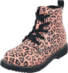 Kids' Boots with Leopard Print
