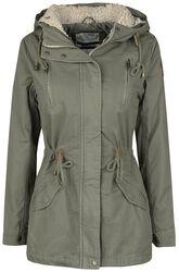 Girls' Cotton Winter Coat