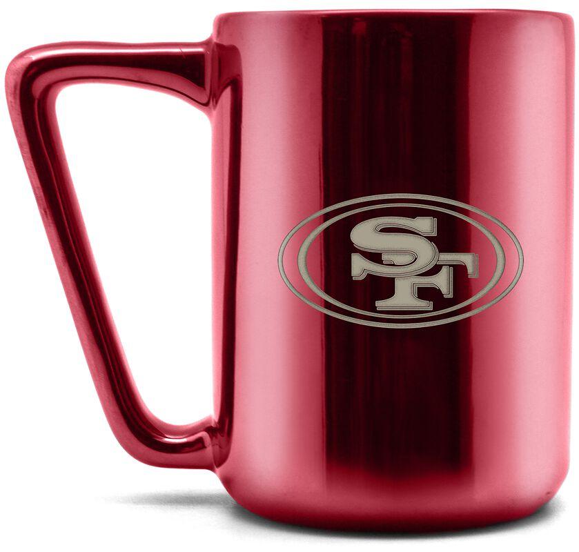 San Francisco 49ers - Laser Logo Mug