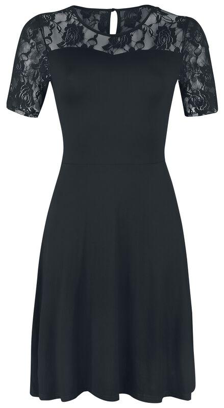 Short Sleeve Lace Dress