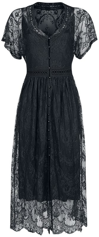 Double Layer Flower Lace Dress