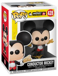 Mickey's 90th Anniversary - Conductor Mickey Vinyl Figure 428
