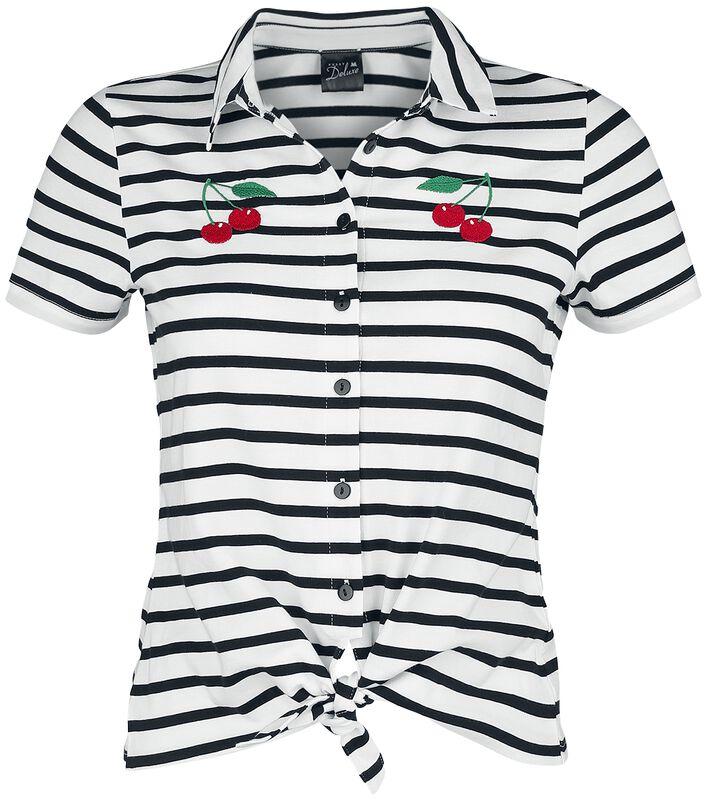 Revival Stripes Short Girl Blouse