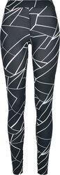 Ladies AOP Geometric Leggings